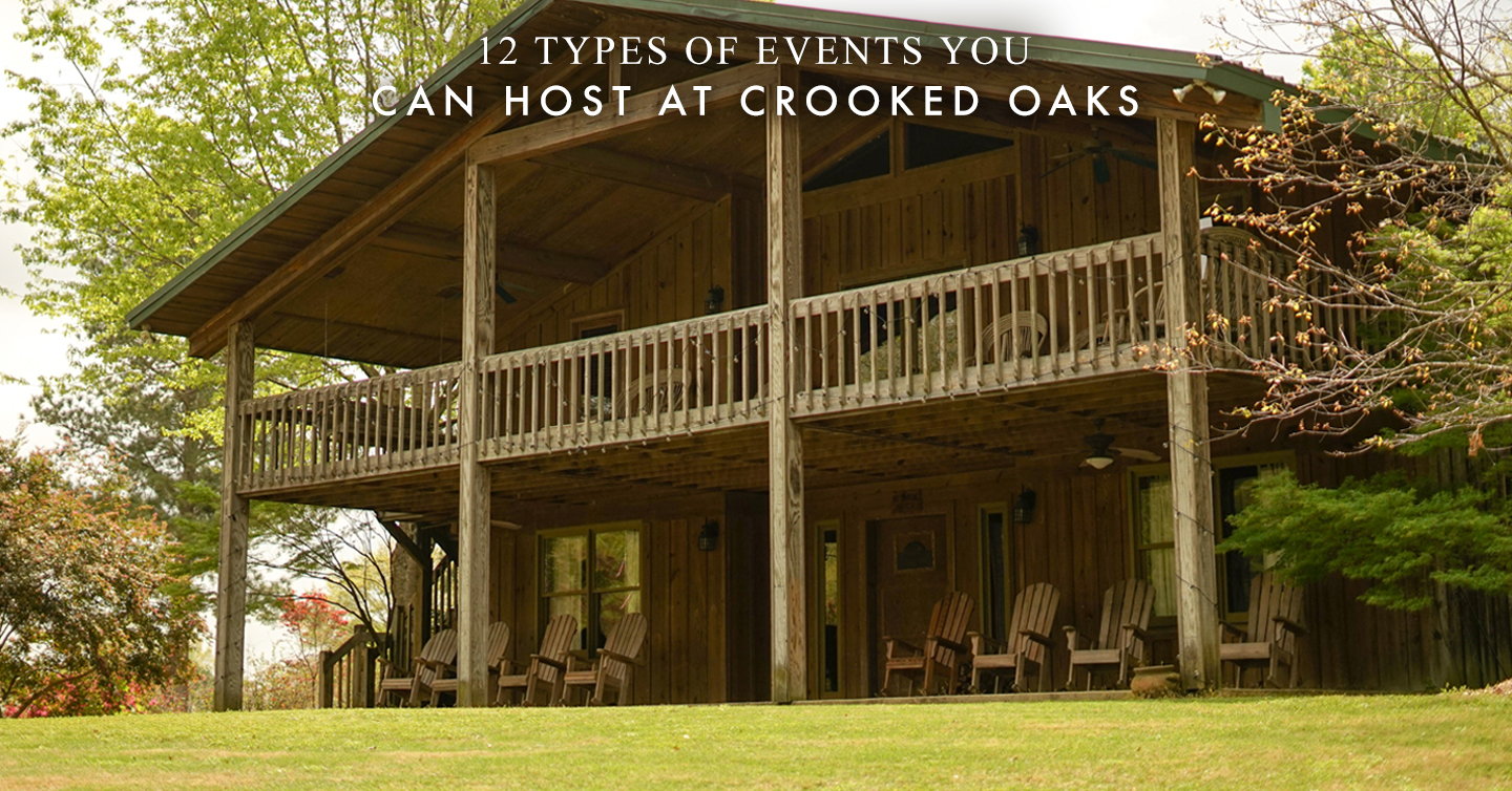 Read more about the article 12 Types of Events You Can Host at Crooked Oaks