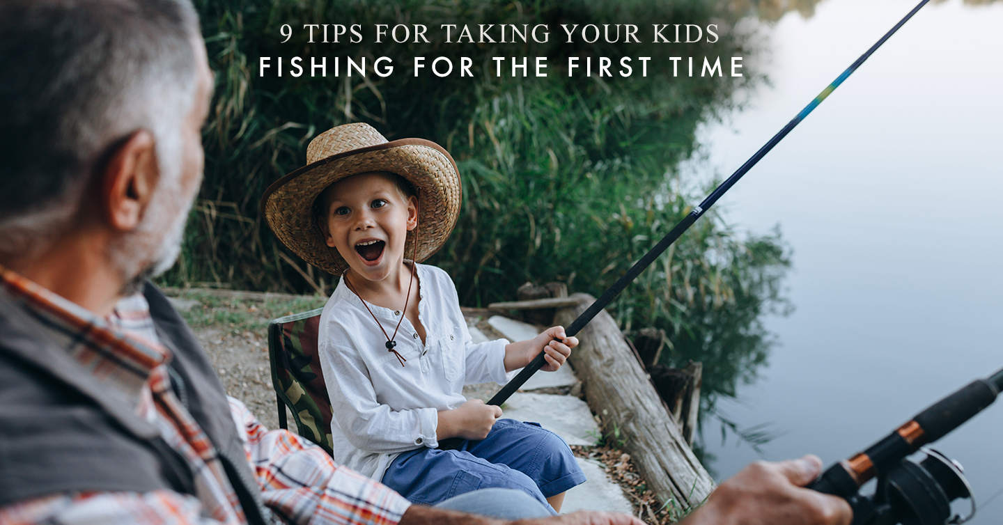 Read more about the article 9 Tips for Taking Your Kids Fishing for the First Time