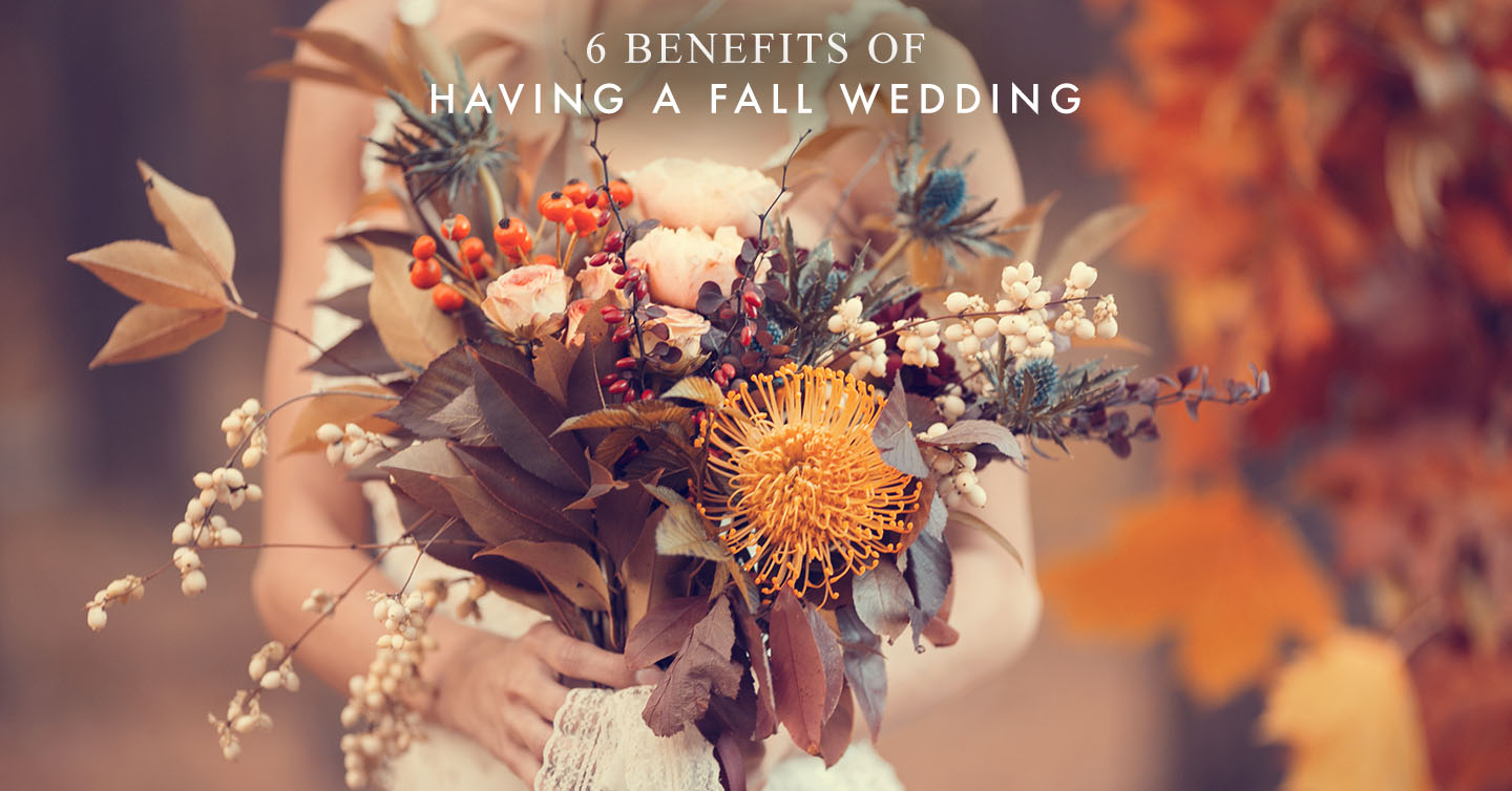 Read more about the article 6 Benefits of Having a Fall Wedding